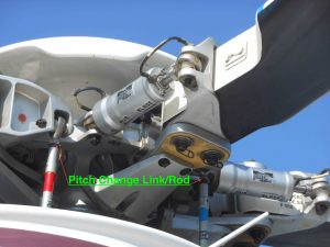 Rotor Blade Pitch Change Rod and Lead/Lag damper - Aw139