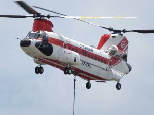 CH47 Columbia helicopter