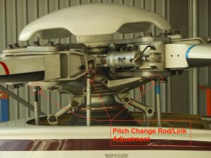 Pitch Change Rod and lead/lag dampers - AW139